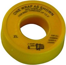 British Gas Approved Gas Tape - PTFE Gas Tape 12mm