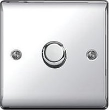 British General Electrical Raised 1G Dimmer Switch
