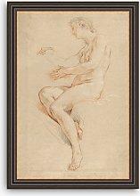 British Library - Francois Lemoyne Female Nude