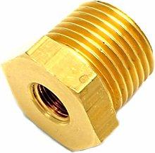 British Made 1/2 X 1/8 Brass Reducing Bush Bspt X