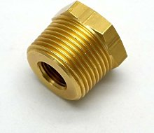 British Made 3/4 X 1/4 Brass Reducing Bush Bspt X