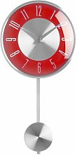 Britt Pendulum 18cm Wall Clock Metro Lane Colour: