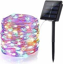 BrizLabs Solar Christmas Fairy String Lights,