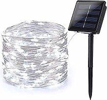 BrizLabs Solar Fairy Lights Outdoor, 78.72ft 240