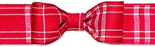Brizzolari Tape Textile Tables, Fabric, Red, 6x