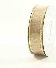Brizzolari Textile Tape, Fabric, Gold, 6x 6x
