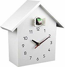 BRLIUK Cuckoo Clock, Birdhouse Design, Natural