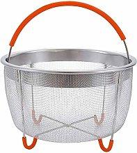 BRONG 6Qt Steamer Basket Pressure Cooker Basket