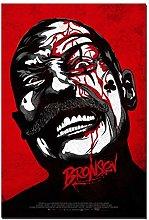 Bronson Fighting Classic Horror Movie Film Picture