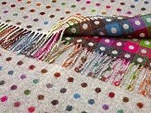 Bronte Throw Blanket - Rainbow - Merino Lambswool