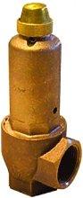 Bronze heating safety valve FF 33x42 33x42 3 bar -
