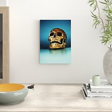 Bronze Skull Photographic Print Big Box Art