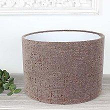 Bronze Zonda Drum Lampshade (25 cm Diameter x 21