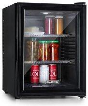 Brooklyn 42 Refrigerator EEC A Glass Door Black