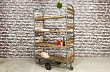Brooklyn kitchen storage trolley