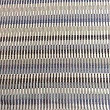 Brooklyn Retro Chenille Stripe Blue Designer