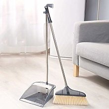 Broom and Dustpan Long Handled Dust Removal Pot