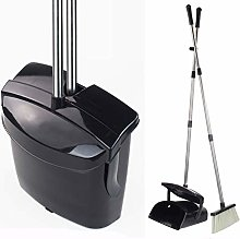 Broom and Dustpan Set Commercial Long Handle Sweep