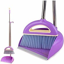 Broom and Dustpan with Long Handle Telescopic