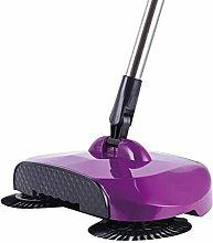 Broom, Stainless Steel Hand-Push Sweeper Sweeper