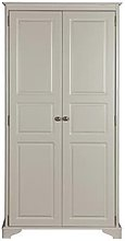 Brora Wardrobe In Grey With 2 Doors