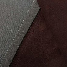 Brown 3mm Scrim Foam Backed Faux Suede Car