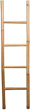 Brown 4.9 ft Bamboo Ladder Williston Forge