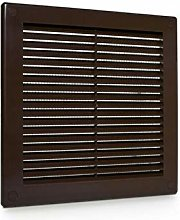 Brown Air Vent Grille 250mm x 250mm with