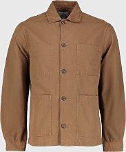 Brown Chore Jacket - S
