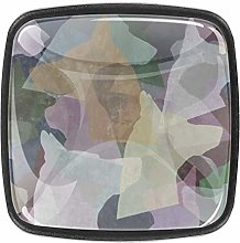 Brown Dog Shadow 4pcs Glass Cupboard Wardrobe