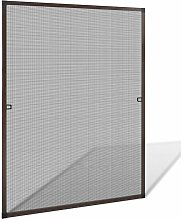 Brown Insect Screen for Windows 100 x 120