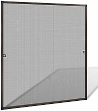 Brown Insect Screen for Windows 120 x 140 cm
