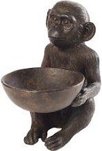 Brown Monkey Trinket Bowl