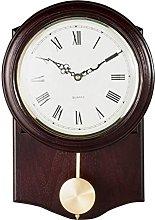 Brown Pendulum Wall Clock (662399611)