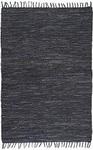 Brown Rug by Bloomsbury Market - Grey