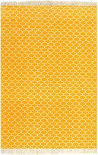 Brown Rug by Bloomsbury Market - Yellow