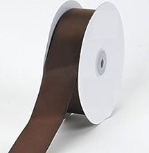 Brown Satin Ribbon - 50mm Wide - 5 Meter - GCS