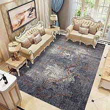 brown Short Pile Rug living room 3D printing