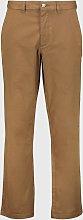 Brown Straight Leg Chinos - W34 L34