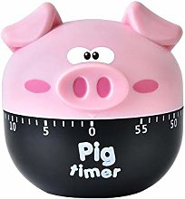 Brownrolly Novelty Piglet Food Cooking Timer,