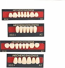 Brrnoo Resin Denture False Teeth, Temporary Tooth