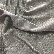 BRSL Silver fibrous fabric 1.5M wide sterling