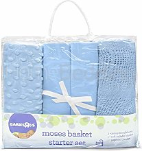 bru 4pce Nursery Baby Bale Pram/Moses Starter Set