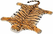BRUBAKER Bengal Tiger Rug - 51 x 47 Inches (130 x