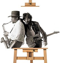 Bruce Springsteen Clarence Clemons 12x16 inches |