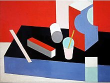 Bruce Untitled Cubist Cubism Painting Large Wall