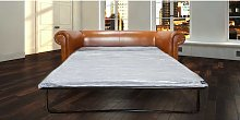 Bruciato Leather Chesterfield Sofa Bed