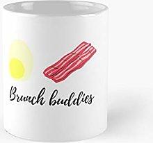 Brunch Shirt Buddies Girls Weekend Egg and Bacon