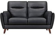 Bruno 2 Seater Real Leather/Faux Leather Sofa