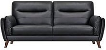 Bruno 3 Seater Real Leather/Faux Leather Sofa